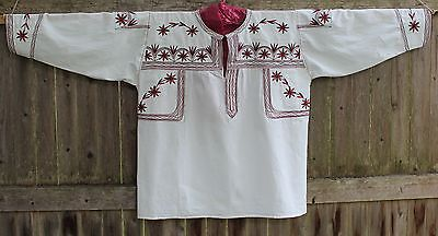 Large Size Mexican Blouse Traditional Tlahuitoltepec Oaxaca Indigenous artisans