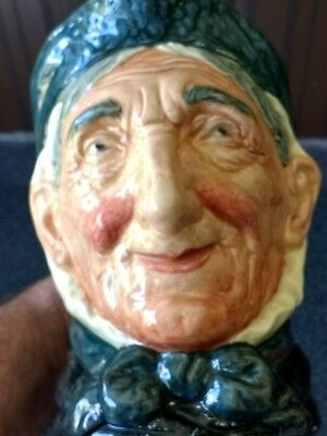 Doulton Character Jug Toothless Granny