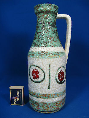 West german 60´s design Bay Keramik jug vase  69  25