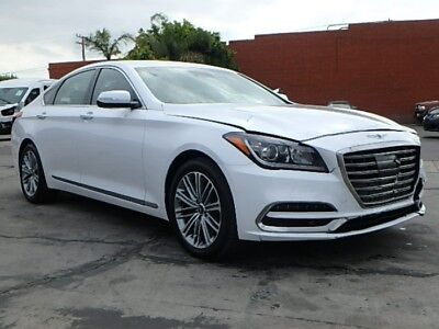 2018 Genesis G80 3.8 2018 Genesis G80! Super Low Miles! Salvage Repairable! Luxurious Design! L@@K!