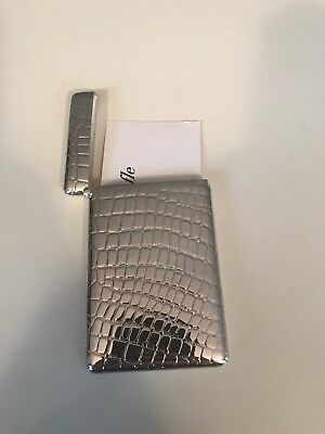 CHRISTOFLE VINTAGE STERLING SILVER CROC HOLDER- Amazing New Condition-SALE!!!!!