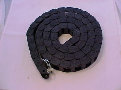 "IGUS ENERGY CHAIN chain cable carrier 10.2.038 62 links 74"" lenght"