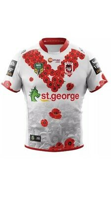 st george illawarra Shirt Large