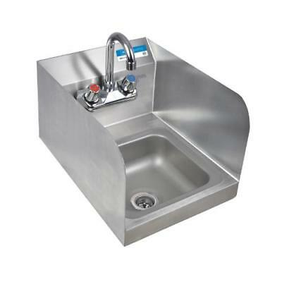 BK Resources - BKHS-W-SS-SS-P-G - Wall Mount Space Saver Hand Sink