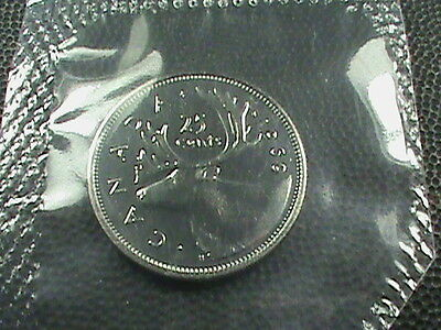 CANADA   25 Cents  1969  UNCIRCULATED  MINT SET , $ 2.99 maximum shipping in USA