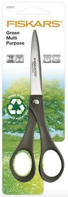 Fiskars 18cm Recycled Scissors with Sharp Blades - 100% Recycled - Sewing Crafts
