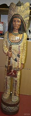 John Gallagher Buffalo Cigar Store Indian ~ 6ft ~ USED