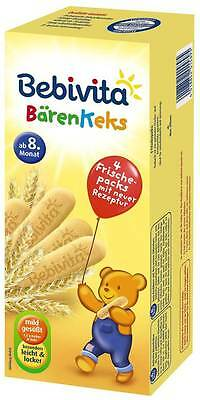 Bebivita HEALTHY Biscuits for TEETHING Babies -from 8 months-FREE SHIPPING