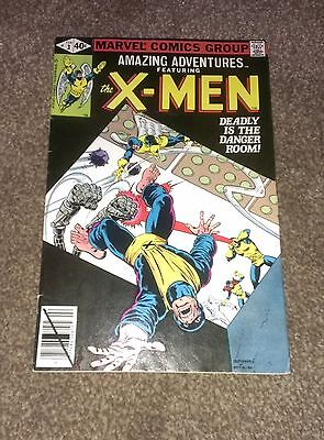 Amazing Adventures Vol 3 # 3 featuring The X-Men Marvel Comics 1980 VF-