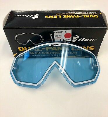 Thor Dual-Pane Lens For Hero And Enemy Goggles / Blue: Was $19.99