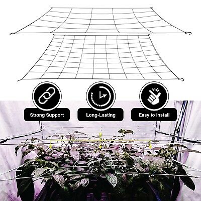 Scrog Net for grow tents flexible and fits many sizes 2 layer for plant training