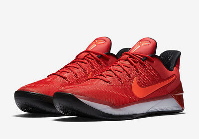 new styles d8feb 36a63 SALE NEW Nike Kobe Bryant AD University Red Sz 10 852425-608 A.D. Basketball