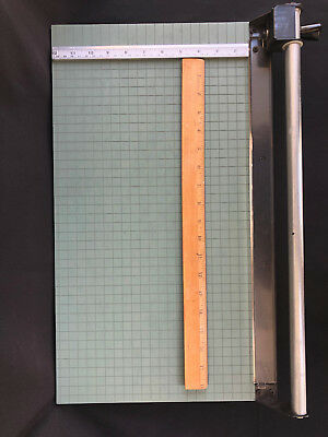 """Unbranded 18"""" Professional Rotary Paper Cutter Trimmer w/ Feet for Stablization"""