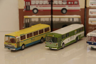 Tomix  Bus Collection Brown 1/150 N scale Japan Scale Plastic Model 3x Lot 3