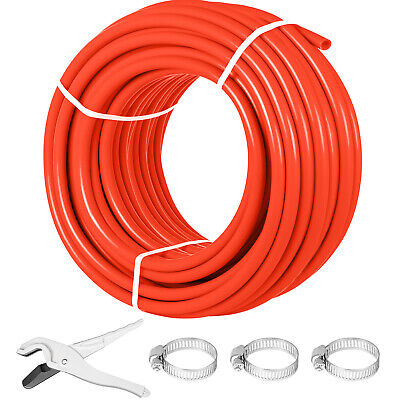 "1/2"" x 300ft feet Pex Tubing Oxygen Barrier O2 EVOH Pex-B Red Radiant Floor Heat"