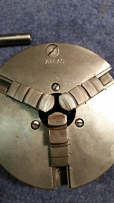Atlas 5 inch 3 jaw chuck, vintage