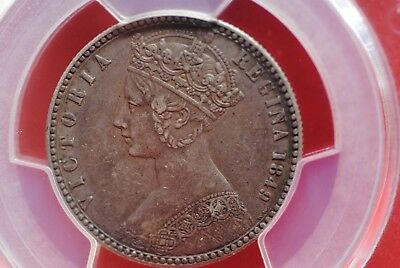 1849 Great Britain Florin in extra fine 45, S-3890, in PCGS Secure holder.