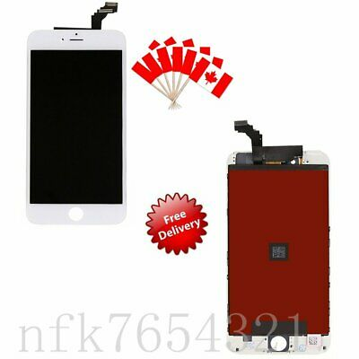 LCD Lens Touch Screen Display Camera Assembly Replacement For iPhone 6plus White