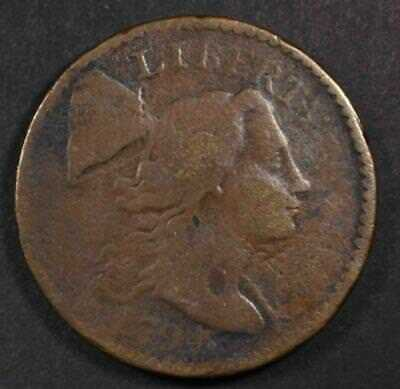 1794 Liberty Cap Flowing Hair Large Cent LETTERED EDGE Key Date. FREE SHIPPING