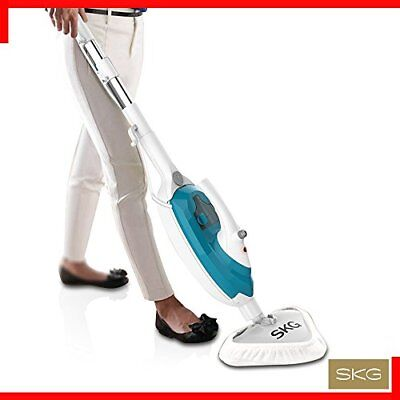 SKG 1500W Powerful Non-Chemical 212F Hot Steam Mops & Carpet and Floor Cleani...
