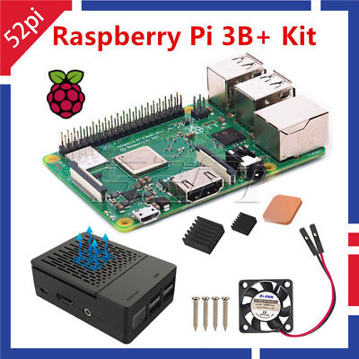2018 NEW Raspberry Pi 3 Model B+(B Plus) Starter Kit With Case & Cooling Fan Kit