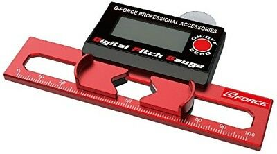 G Force Digital Pitch Gauge G0267, Hobby Parts & Tools, Red, Measurement, Japan