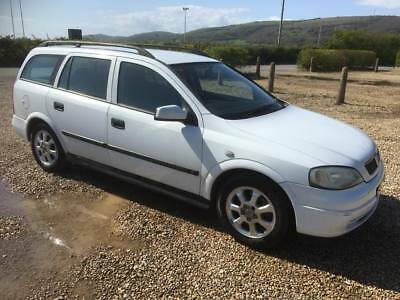 vauxhall astra cd 2.0 dti estate 2001/y plate with 154k and a august 2018 mot..