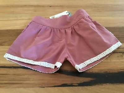 Cute pink shorts, girls size 5. By Daisy&Moose. Brand new with tags.