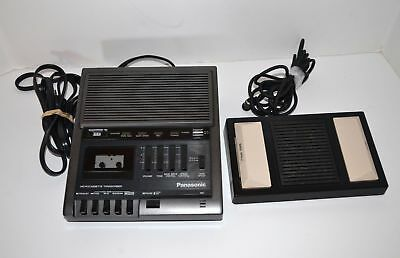 Panasonic Microcassette Transcriber Model RR-930 System with RP-2692 Foot Pedal