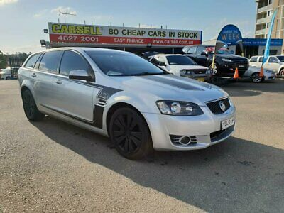 2013 Holden Commodore VE II MY12.5 Z Series Sportwagon Silver Automatic 6sp A