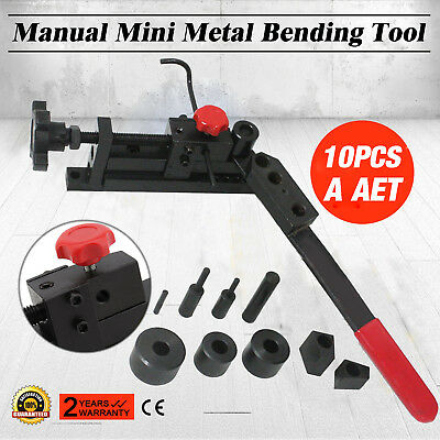 New Manual Mounting Mini Universal Bending Bender Forms Wire, Flat Metal,Tubing