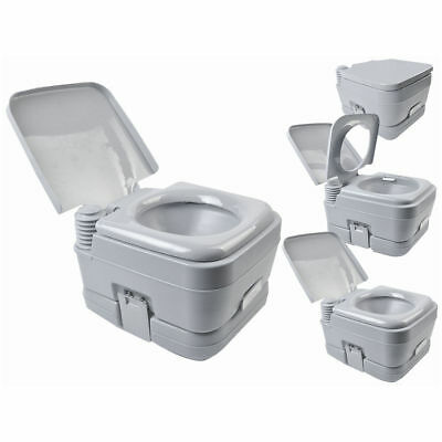 2.8 Gallon 10L Portable Toilet Travel Camping Outdoor/Indoor Toilet Potty Flush