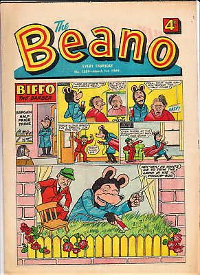 BEANO  # 1389 March 1st 1969 the comic issue