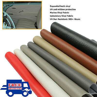 Upholstery Vinyl Material Furniture Seat Faux Leather Cover Auto & Marine Grade