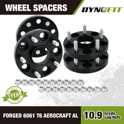 4pc 20mm Hubcentric Wheel Spacers For Honda & Acura 5x114.3 64.1mm CB 12X1.5