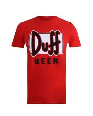 The Simpsons T-Shirt Duff Bier Größe xl  Fan-Artikel Film Spirlzeug Figur Lootb