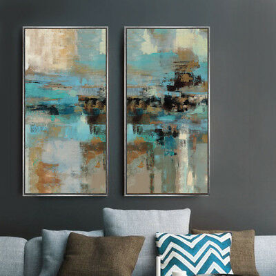 Oil Painting Large Canvas Prints Digital Wall Art Modern Abstract Set Unframed