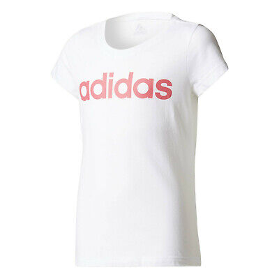 Adidas Girls Tshirts Kids Training Cool Tee Running Climacool Coral New Ce6061 Other