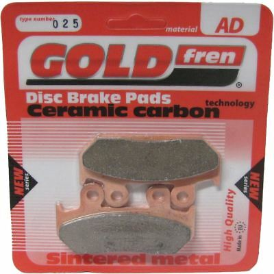 Brake Disc Pads Front L/H Goldfren for 1992 Honda XRV 750 N Africa Twin (RD04)