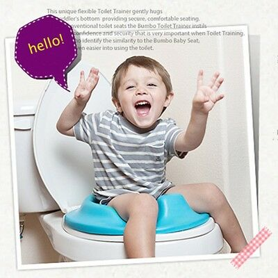 Toddler Kids Toilet Seat Cushion Baby Plastic Bathroom Potty Training Seat Cover