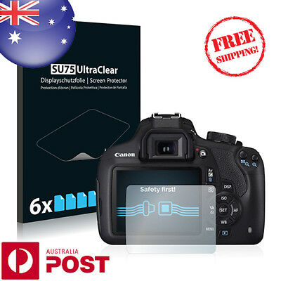 6x Savvies SU75 Screen Protector for Canon EOS 1200D - P003BF
