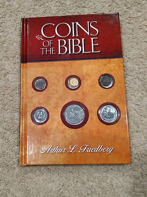 Coins of the Bible Book-Arthur Friedberg-Study/History of Biblical Money-2004