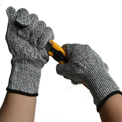 Safety Cut Proof Stab Resistant Stainless Steel Wire Metal Mesh Butcher Gloves #