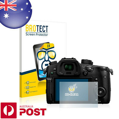 2x BROTECT® HD-Clear Screen Protector for Panasonic Lumix DC-GH5 - P004A