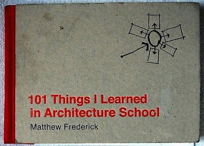 101 things I learned at architecture school