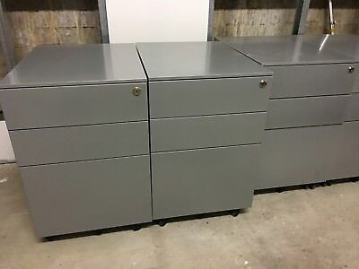 Mobile Metal Pedestal Drawers Office Desk Filing Drawers 20 available
