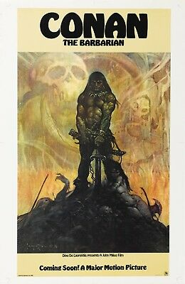 Conan The Barbarian 1982 Movie Poster Print A0-A1-A2-A3-A4-A5-A6-MAXI - CL101