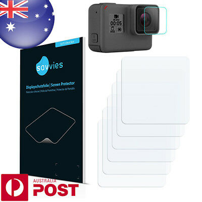 6x Savvies SU75 Screen Protector for GoPro Hero5 Black Lens - P006A