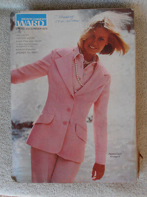Montgomery Ward Spring & Summer Catalog 1973 Very Clean Nice Example
