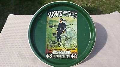 Howe Bicycles Tricycles Meta Tin Serving Tray
